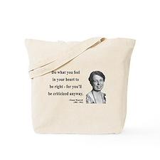 Eleanor Roosevelt 7 Tote Bag