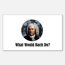 Bach Rectangle Decal