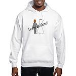 Leave Us Alone! Hooded Sweatshirt