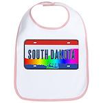 South Dakota Rainbow State Bib