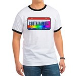 South Dakota Rainbow State Ringer T
