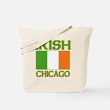 Chicago Irish Flag Tote Bag