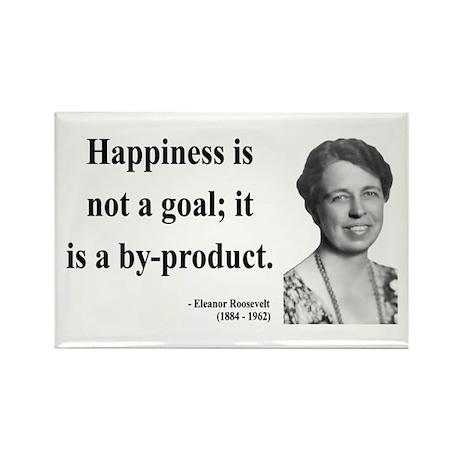 Eleanor Roosevelt 8 Rectangle Magnet (10 pack)