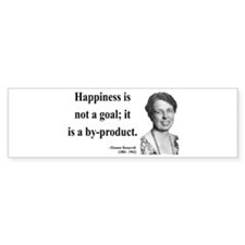 Eleanor Roosevelt 8 Bumper Bumper Sticker