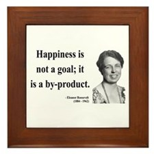 Eleanor Roosevelt 8 Framed Tile
