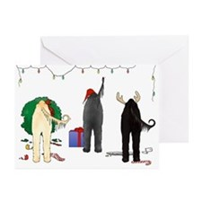 Nothin Butt Afghan Xmas Greeting Cards (Pk of 10)