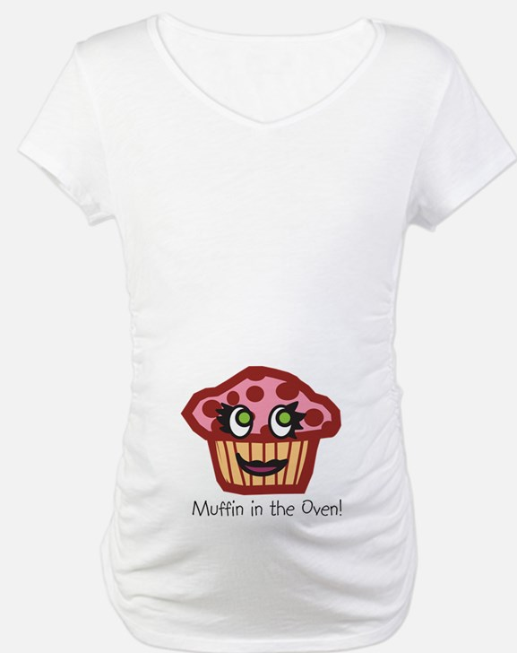 """Cran """"Muffin in the Oven"""" Shirt"""