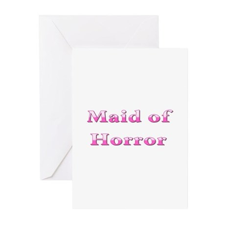 Maid of Honor (Horror) Greeting Cards (Pk of 10)