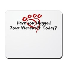 Hugged Werewolf Mousepad