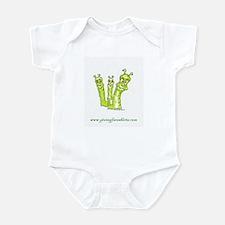 worms three Infant Bodysuit