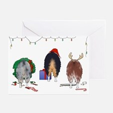 Nothin' Butt Aussie Xmas Greeting Cards (Pk of 10)