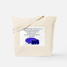 Funny Nurse christmas Tote Bag