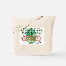 Unique Nurse christmas Tote Bag