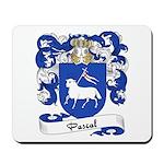 Pascal Family Crest Mousepad