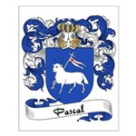 Pascal Family Crest Small Poster