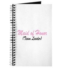 Maid Of Honor (Team Leader) Journal