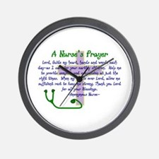 Cute Nurse Wall Clock