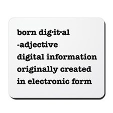 Born Digital Mousepad