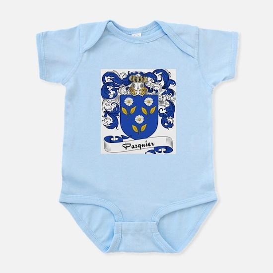 Pasquier Family Crest Infant Creeper