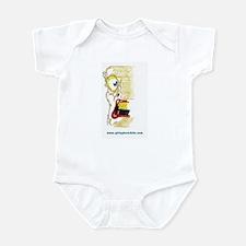 smear face Infant Bodysuit