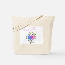 Maid Of Honor (Hearts) Tote Bag