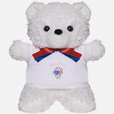 Maid Of Honor (Hearts) Teddy Bear