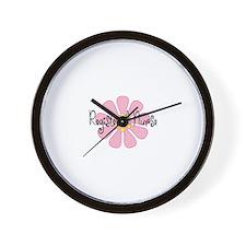 Cute Registered nurse Wall Clock