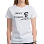 Eleanor Roosevelt 9 Women's T-Shirt