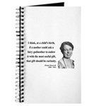 Eleanor Roosevelt 9 Journal