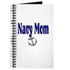 Navy Mom with anchor Journal