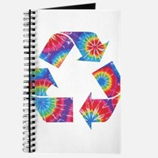 Recycle Tie Dye Journal