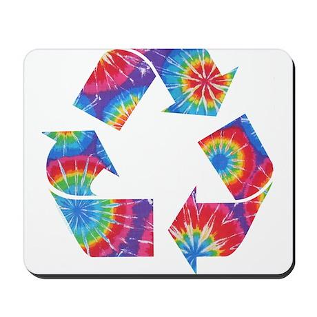 Recycle Tie Dye Mousepad