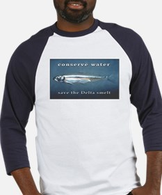 Save the Delta smelt Baseball Jersey