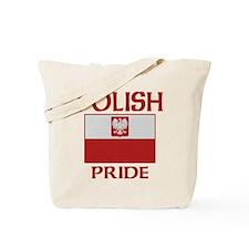 Polish Pride Flag Tote Bag