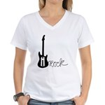 iRock Women's V-Neck T-Shirt