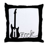 iRock Throw Pillow