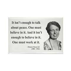 Eleanor Roosevelt 10 Rectangle Magnet (100 pack)