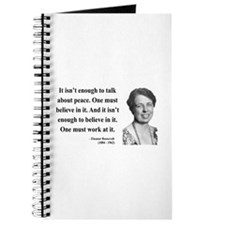 Eleanor Roosevelt 10 Journal