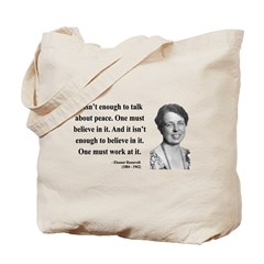 Eleanor Roosevelt 10 Tote Bag