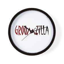 Groomzilla Wall Clock