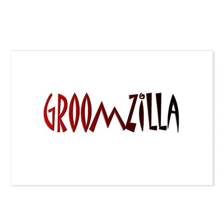 Groomzilla Postcards (Package of 8)