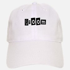 Groom (Square) Baseball Baseball Cap