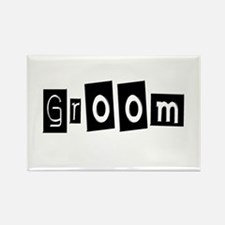 Groom (Square) Rectangle Magnet