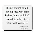 Eleanor Roosevelt Text 10 Mousepad