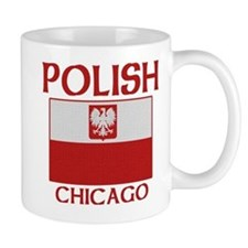Chicago Polish Flag Mug