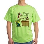 Usenet Junkie #2 Green T-Shirt