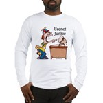 Usenet Junkie #2 Long Sleeve T-Shirt