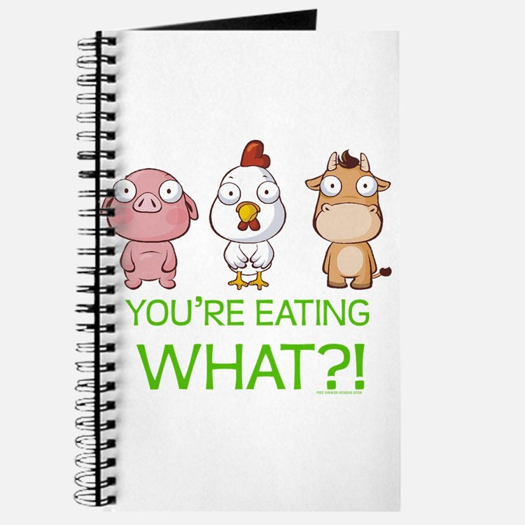 You're eating WHAT! dark Journal