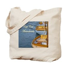 Cape Cod Boating Tote Bag