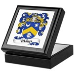 Philippe Family Crest Keepsake Box